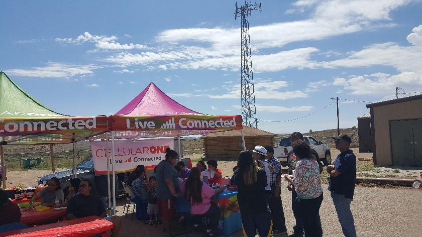 Lifeline signup event in Torreon, NM