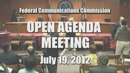 Open Commission Meeting - July 19, 2012