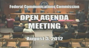 Open Commission Meeting - August 3, 2012