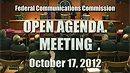 October 2012 Commission Meeting