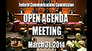 Open meeting title slide