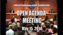 Open Commission Meeting, May 15, 2014