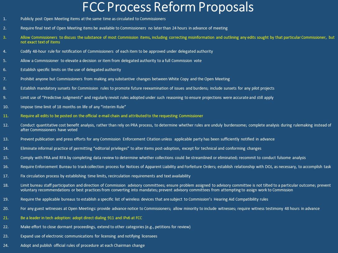 7.8.16- O'Rielly Process Reform Proposals