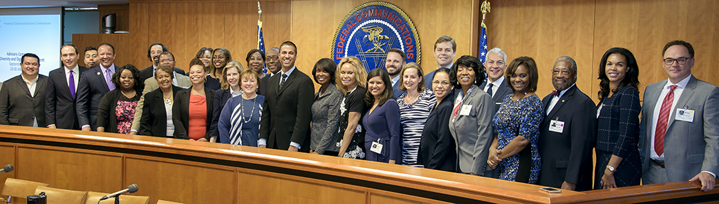 Advisory Committee on Diversity and Digital Empowerment - Group Photo, September 25, 2017, click for a larger version...