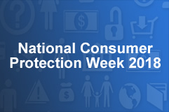 National Consumer Protection Week webcast thumbnail 2018