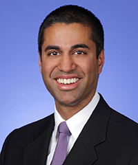 Chairman Ajit Pai: click for press photo