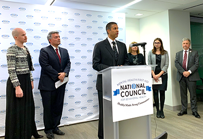Chairman Pai at the National Council for Behavioral Health on November 19, 2019. Click for full size image.