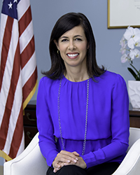 Commissioner Jessica Rosenworcel: click for press photo
