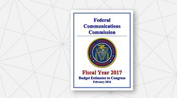Cover of the 2017 Congressional Budget Request
