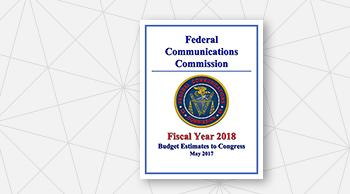Cover Page of FY 2018 Congressional Budget Request
