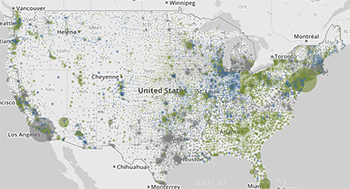 E-rate Maps of Fiber Connectivity to Schools and Libraries