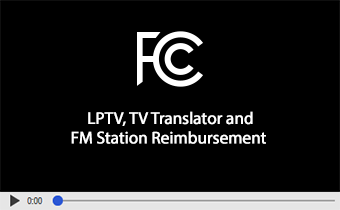 Click to play video: LPTV, TV Translator, and FM Station Reimbursement